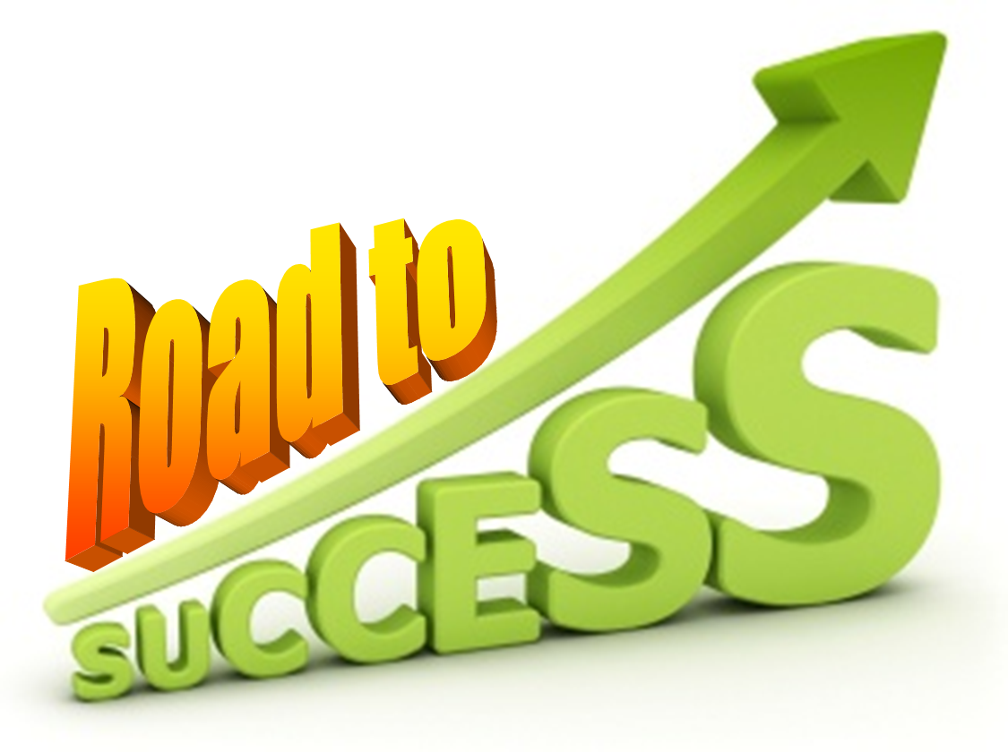 logo road to success